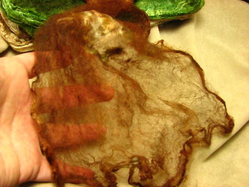 One layer of silk hankie