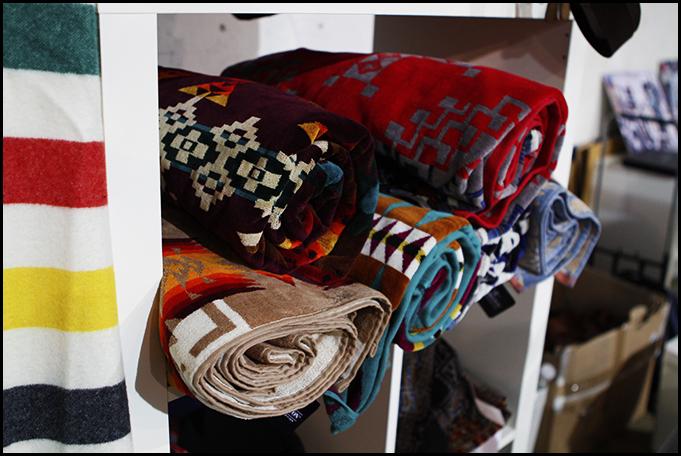 Tuukka at Mens Fashion Week, Paris - Pendleton Woolen Mills Blankets, Capsule