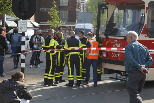 20110426 - Collision between Randstad Rail 3 and Tram 11 - The Hague _MG_9075
