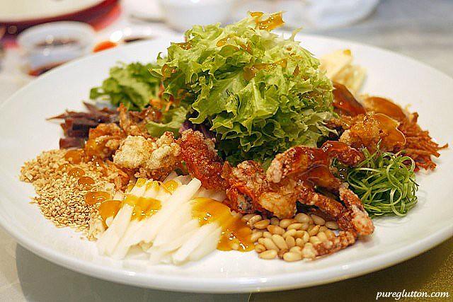 ss crab prosperity salad