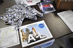 NASA Tweetup STS-134 Day 1 Registration, April 28, 2011