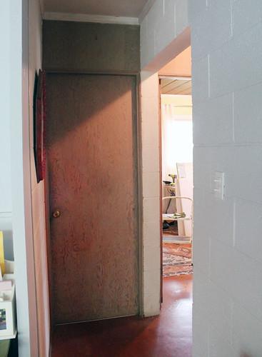 Door to Prison Bathroom