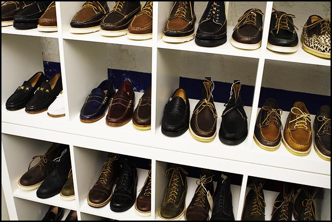 Tuukka at Mens Fashion Week, Paris - Yuketen Boots and Shoes FW 2011, Capsule