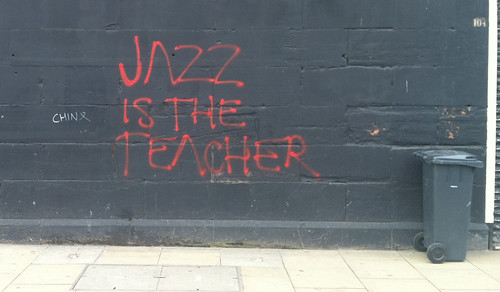 Jazz is the teacher