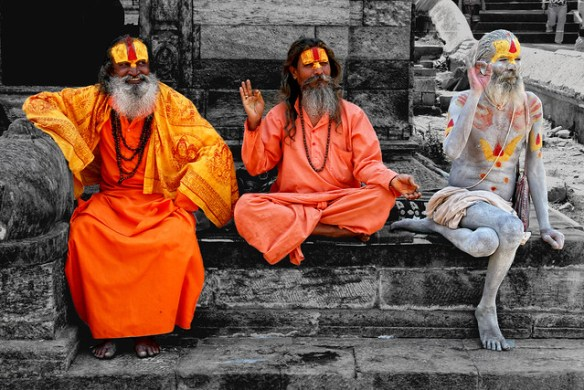 Pashupatinath Temple Holly Men