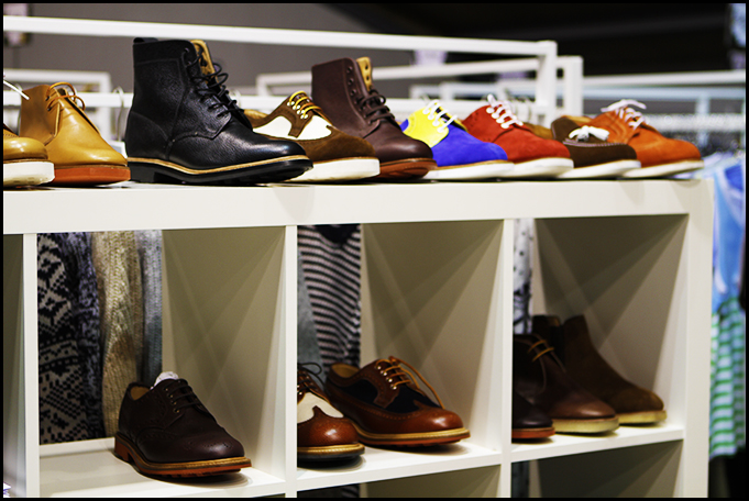 Tuukka at Mens Fashion Week, Paris - Mark McNairy New Amsterdam Boots Colorful Buck's and Classic Colorways at Capsule