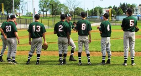 Baseball Socks Over Pants