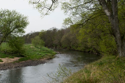 The river after Airds Moss