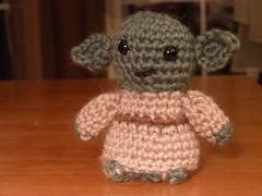 FO: Yoda amigurumi