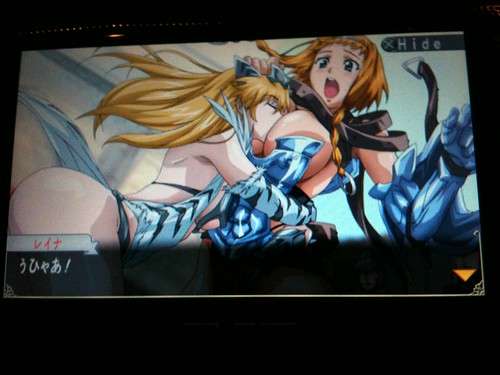 Queen's Blade : Spiral Chaos - in game