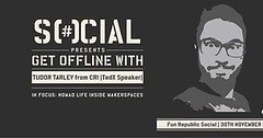 Stories travel through people. Tudor Tarlev has seen maker spaces all over the world and he has the most interesting tales to tell. Get offline with him and his 'Tales from Makerspaces' at @funrepublicsocial. And thank you @bira for the beers! . . . . . .