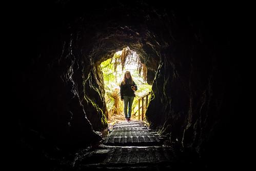 Former mining tunnel