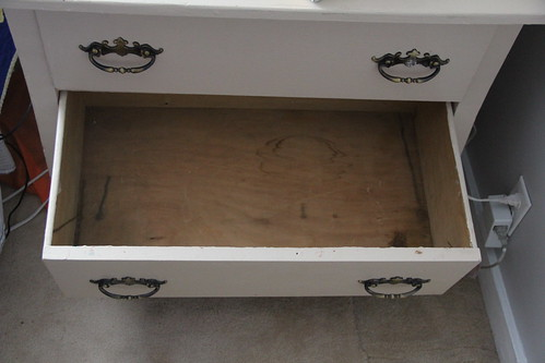Before + After: antique dresser