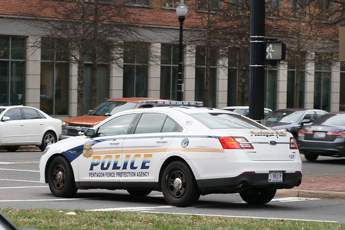 Pentagon Force Protection Agency Ford PI sedan - a photo on Flickriver