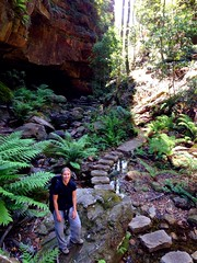 Hiking the Grand Canyon in the Blue Mountains