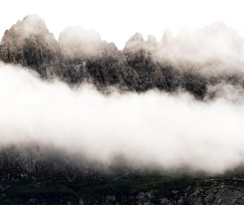 Foggy Cradle Mountain