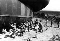 Pregătirea unui balon de observație