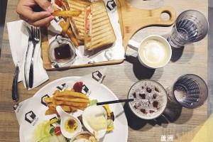 新北蘆洲食記 VEG OUT 耍廢空間;高人氣早午餐店【手機食記】