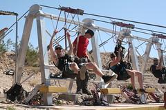 Ziplining in Nevada