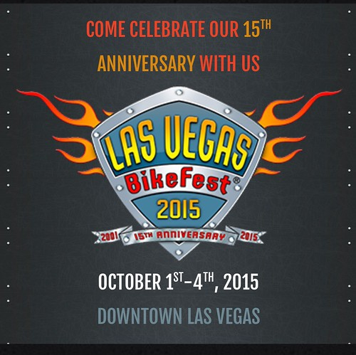 "LAS VEGAS NV USA - ""Las Vegas Bike Fest  2015 -  15th Anniversary""  Congratulations, TBT -  I was there when it all started 15 years ago - Celebrate on  October 1st to 4th  2015 • <a style=""font-size:0.8em;"" href=""http://www.flickr.com/photos/134158884@N03/21284498756/"" target=""_blank"">View on Flickr</a>"