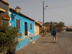 C'est une maison bleue !