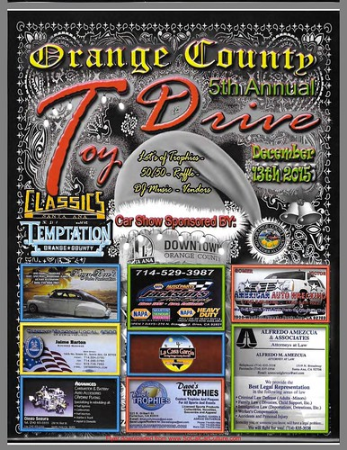 """GARDEN GROVE CA USA - """"Orange county  5th Annual Toy Drive"""" Dec 13 Sunday 10am to 3pm - Car Show - bring your family friends! DJ music , raffles , vendors too - credit: www.SoCalCarCulture.com • <a style=""""font-size:0.8em;"""" href=""""http://www.flickr.com/photos/134158884@N03/23063202193/"""" target=""""_blank"""">View on Flickr</a>"""