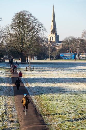 Cambridge in the frost