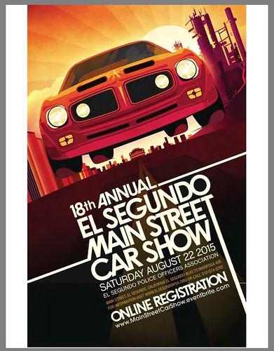 "EL SEGUNDO CA USA - ""18th Annual El Segundo Main Street Car Show"" August 22 Saturday - 10am -   All pre-1975 welcome - credit: www.SoCalCarCulture.com • <a style=""font-size:0.8em;"" href=""http://www.flickr.com/photos/134158884@N03/20730884021/"" target=""_blank"">View on Flickr</a>"
