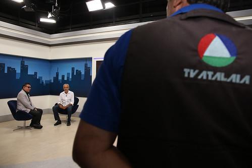 Entrevista na TV Atalaia 21/10
