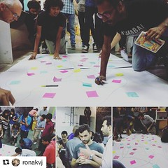 #Repost @ronakvj  ・・・ The #first #indo #french #steamschool #innovation #collaboration #team # building #session at #makersasylum #mumbai  #makersgonnamake
