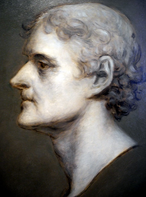 Nikon P7000 Thomas Jefferson Profile Portrait By Charles Bird King At