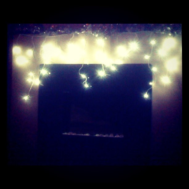 Lights over fireplace flickr photo sharing