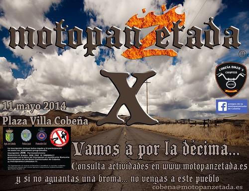 X Motopanzetada - Cobeña