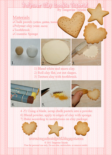 Polymer Clay Sugar Cookie Tutorial