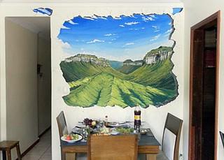 Mural 3D -  Vale do Pati