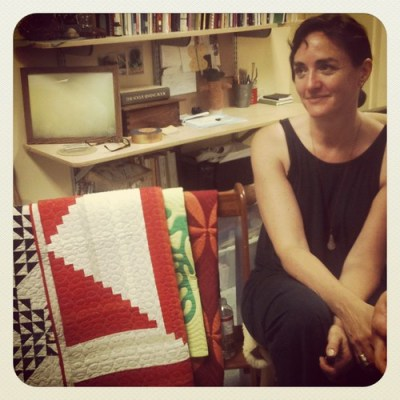 Denyse Schmidt at Philly Modern Quilt Guild last night