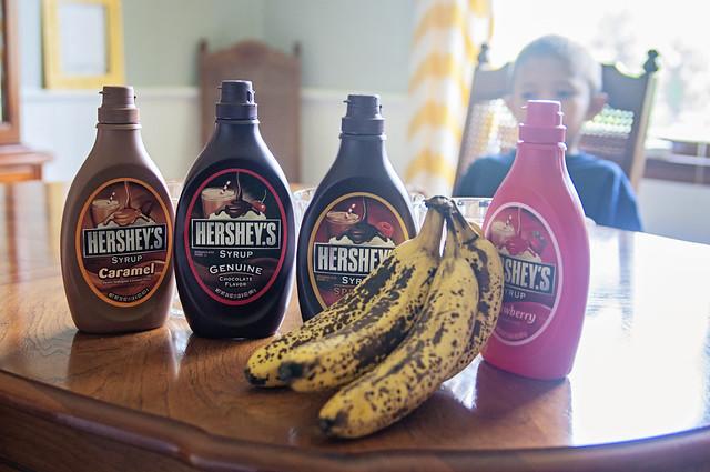 Hey Let's Eat Banana Splits for Lunch