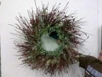 树枝圣诞花环
