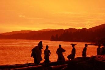 Dundarave Beach sunset
