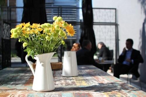 Flowers. Chez Dre, South Melbourne.