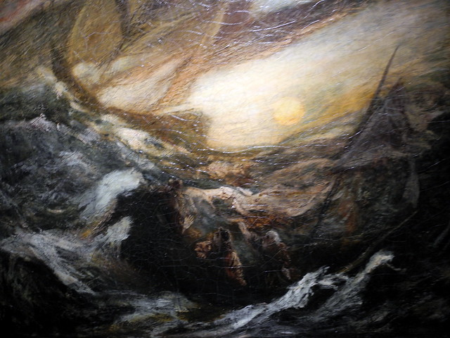 Nikon P7000 Flying Dutchman By Albert Pinkham Ryder At Smithsonian