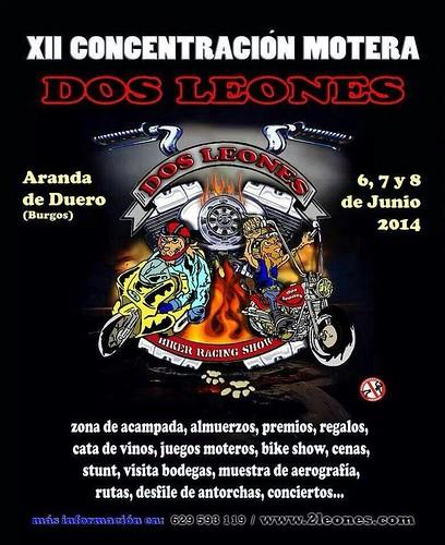 XII Concentración Motera Dos Leones - Aranda de Duero