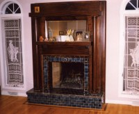 Fireplace with raised hearth | Flickr - Photo Sharing!