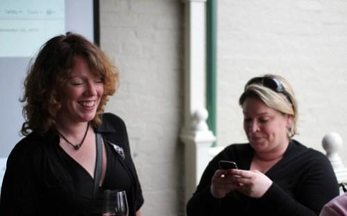 Fiona Sweetman and Shelli Whitehurst
