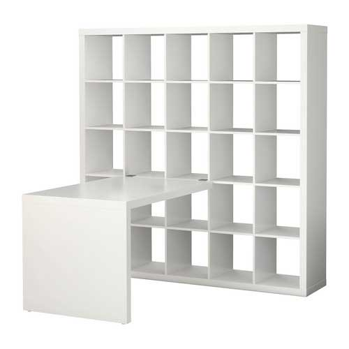 Ikea Expedit Bookcase With Desk Flickr Photo Sharing