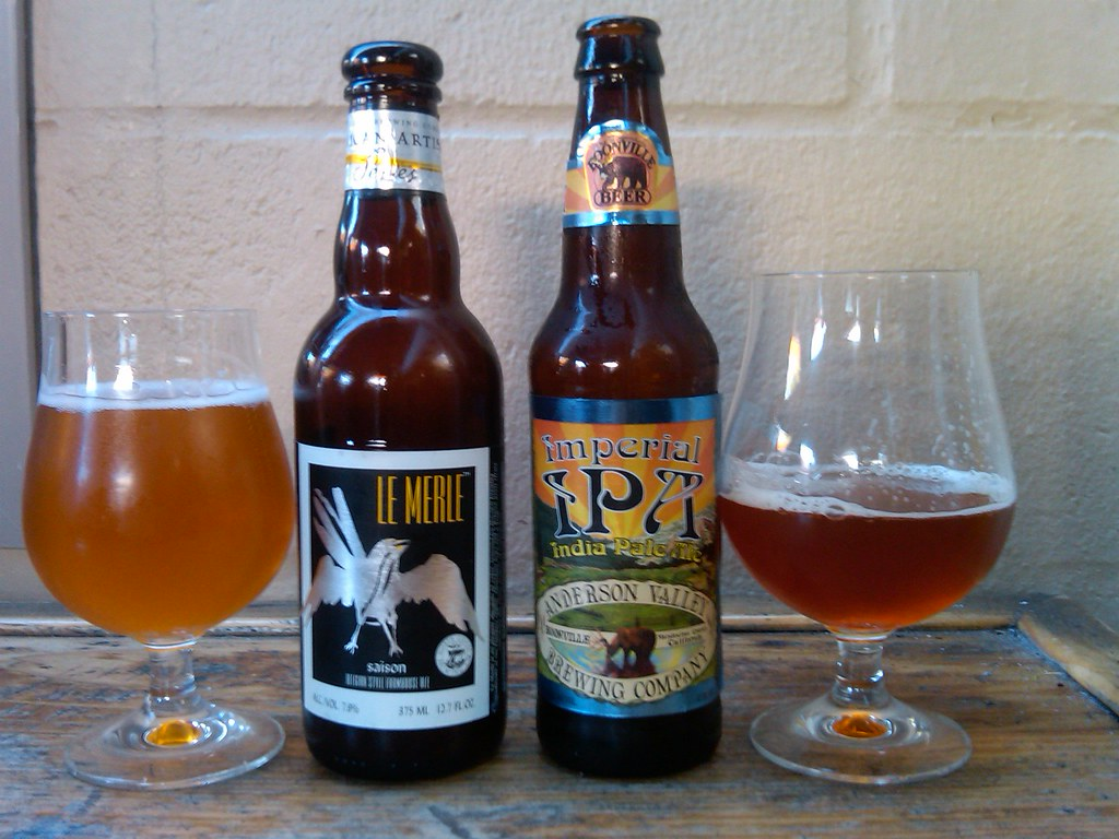 Saison Belgian Farmhouse Ale North Coast Le Merle Saison Belgian Style Farmhouse Ale Flickr