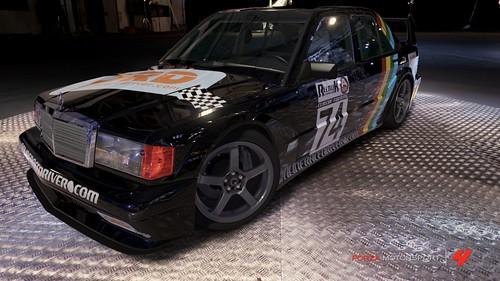 The ORD Merc 190E - winner of the Rllmuk Classic Touring Season 1