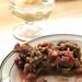 Save on Meats Apple rhubarb crisp