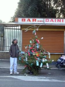 Christmas Tree At The Bar Dei Daini Flickr Sharing