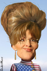 Sarah Palin - Caricature